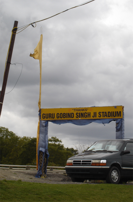 'Thanks' Guru Gobind Singh Ji Stadium!