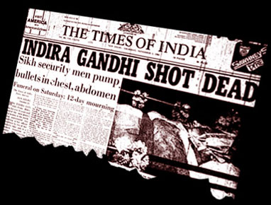 Times of India: 1984 Anti-Sikh Riots