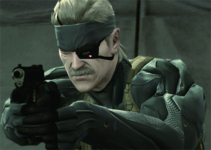 Solid Snake is one cool dude, you bama!