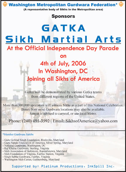 Sikhs to march in annual Independence Day Parade.